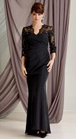 Caterina 6019 by Jordan Chiffon and Lace Mother of the Bride Dress image