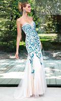 Alyce Paris 6027 Beaded Tulle Mermaid Gown image