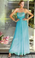 Alyce 6044 Paris Silky Chiffon Ball Gown image
