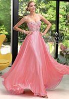 Alyce Paris 6046 Iridescent Silky Chiffon Formal Dress image
