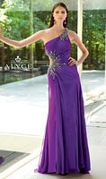 Alyce 6063 Paris One Shoulder Sequin Gown image