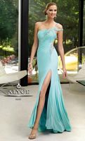 Alyce Paris 6083 Jersey Long over Short Evening Dress image