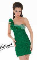 Mac Duggal One Shoulder Short Homecoming Dress 6098N image