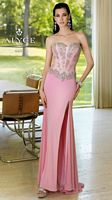 Alyce 6104 Paris Beaded Jersey Gown image