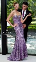 Alyce Paris 6106 Sequin Evening Dress image