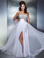MacDuggal 61207M Dress with Sheer Flowy Skirt image