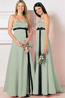 Alfred Angelo Princess Line Long Bridesmaid Dress 6133 image