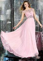 Alyce Paris 6133 Cap Sleeve Illusion Evening Dress image