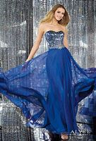 Alyce 6140 Two Tone Beaded Evening Dress image