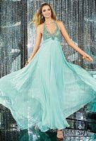 Alyce Paris 6142 Halter Gown with Beading image