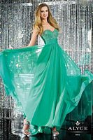 Alyce 6144 Beaded Bust Formal Dress image