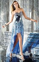 Alyce 6154 High Low Oblong Sequin Dress image