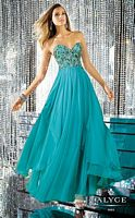 Alyce 6165 Paris Beaded Chiffon Evening Dress image
