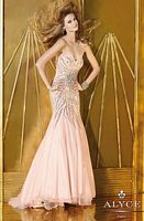 Alyce 6166 Tulle Mermaid Dress image