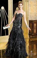 Alyce Paris 6173 Illusion Mermaid Dress image