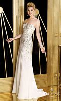 Alyce 6189 Sequin and Bead Chiffon Evening Dress image