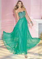 Alyce Paris 6193 Silky Chiffon Evening Dress image