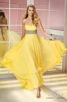Alyce 6194 Layered Chiffon Evening Dress image