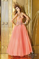 Alyce 6195 Sequin Tulle Ball Gown image