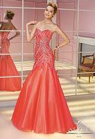 Alyce Paris 6198 Tulle Beaded Mermaid Dress image