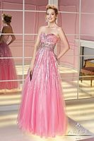 Alyce 6201 Pink Sequin Special Occasion Dress image