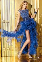Alyce 6216 Organza Ruffle Long Party Dress image