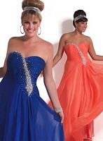 MacDuggal Cassandra Stone II Crystal Plus Size Prom Dress 6219K image