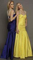 Nicole Bakti 6221 Mermaid Dress with Beaded Straps image