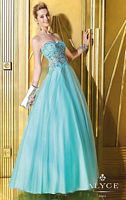 Alyce 6225 Sheer Bodice Ball Gown image