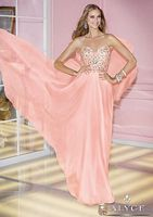 Alyce 6227 Sequin Beaded Chiffon Evening Dress image