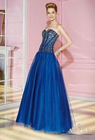 Alyce 6233 Beaded Corset Tulle Ball Gown image