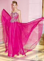 Alyce 6234 Sheer Beaded Bodice Long Dress image