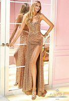 Alyce 6239 Sequin Halter Formal Dress image