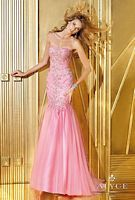 Alyce 6242 Tulle Mermaid Dress image