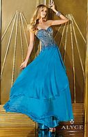 Alyce 6255 A-Line Evening Dress with Beading image