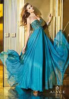 Alyce 6256 Flowy A-Line Evening Dress image