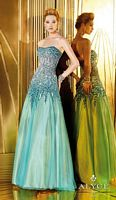 Alyce Paris 6261 Dripping Beads Long Dress image