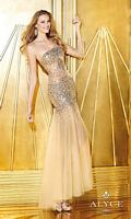 Alyce Paris 6262 One Sleeve Mermaid Dress image