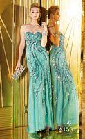 Alyce 6286 Slim Fit Tulle Formal Dress image