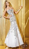 Alyce 6287 Beaded Trumpet Formal Dress image