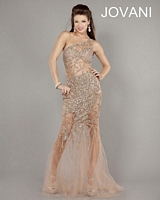 Jovani 6395 Sexy Party Dress with Cut Outs image