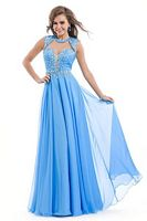 Party Time 6425 Keyhole Soft Tulle Formal Dress image
