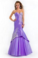 Party Time 6475 Lace Up Back Mermaid Dress image