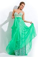 Party Time 6477 Organza Party Gown image