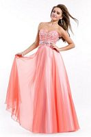 Party Time 6501 Soft Tulle Formal Dress image