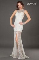 Jovani 6569 Formal Dress with Sheer Illusion image