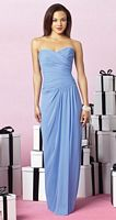 Size 12 Ginger After Six Long Bridesmaid Dress 6641 by Dessy image