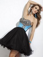 Party Time Short Homecoming Party Dress 6651 image