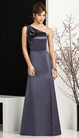 After Six 6674 One Shoulder Bridesmaid Gown image
