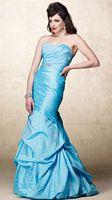 Alyce Designs Special Occasion Crinkle Taffeta Evening Dress 6682 image